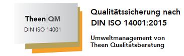 Zertifikat ISO 14001 Beratung Umweltmanagement