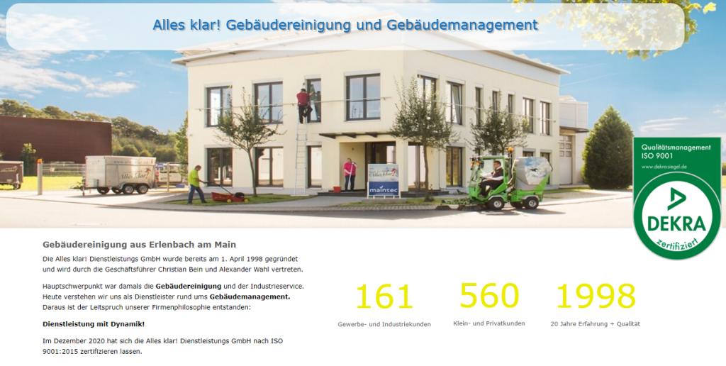 ISO 9001 bei Alles klar!